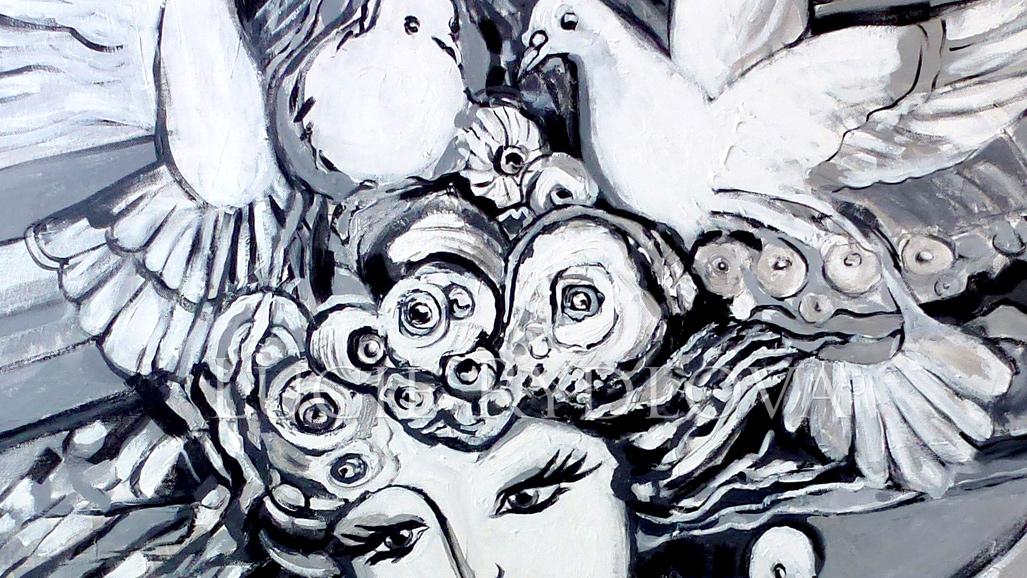 fr biennale noir blanc peinture