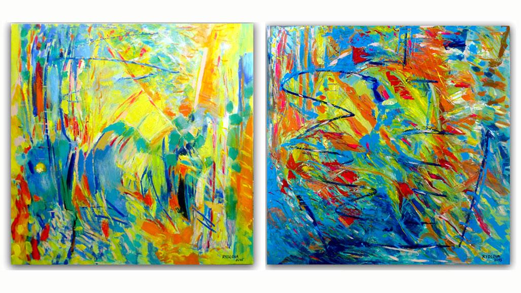 Exposition sculptures peintures verre installations for Peinture peinture
